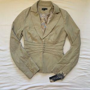 Rampage Khaki colored blazer